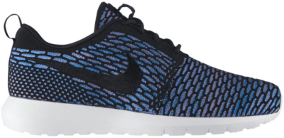 Nike Roshe Run Flyknit Neo Turquoise Black/Black Neo Turquoise 677243-002
