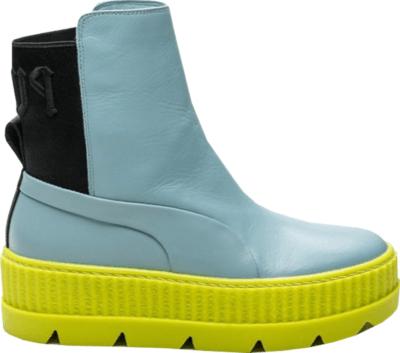 Puma Chelsea Sneaker Boot Rihanna Fenty Sterling Blue (W) Sterling Blue/Puma Black-Limeade 366266-01