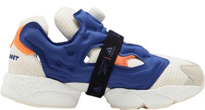 Reebok InstaPump Fury Boost Schoenen Classic White / Club Blue / Solar Orange FU9240