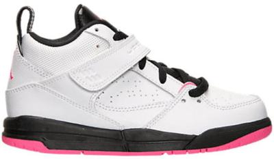 Jordan Flight 45 White Hyper Pink Black (PS) White/Hyper Pink-Black 644876-109