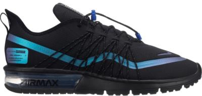 Nike Air Max Sequent 4 Utility Throwback Future Black/Racer Blue-Thunder Grey AV3236-005