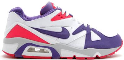 Nike Air Structure Triax 91 White Purple Berry White/Varsity Purple-Berry-Neutral Grey 318088-151