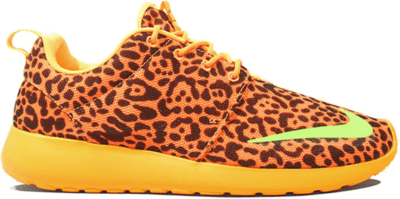 Nike Roshe Run Orange Leopard Bright Citrus/Flash Lime-Laser Orange-Black 580573-838