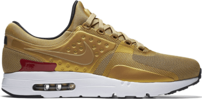 Nike Air Max Zero Metallic Gold Metallic Gold/University Red-White 789695-700