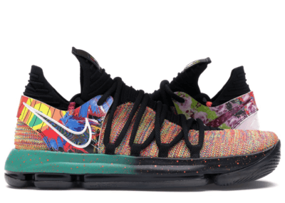 Nike KD 10 What the Multi-Color/Multi-Color-Multi-Color AR4603-900