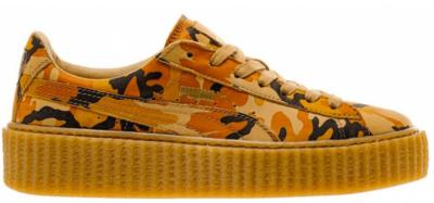 Puma Creepers Rihanna Fenty Camo Orange/Orange/Oatmeal 363277-01