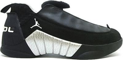 Jordan 15 OG Low Black Silver Black/White/Metallic Silver 136035-011