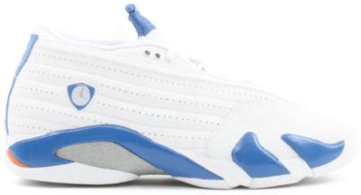 Jordan 14 Retro Low Pacific Blue White/Pacific Blue-Metallic Silver-Bright Ceramic 312567-141