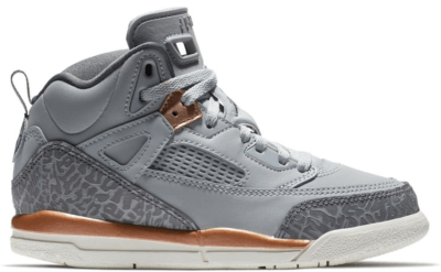 Jordan Spizike Wolf Grey Metallic Red Bronze (PS) Wolf Grey/Dark Grey-Metallic Red Bronze-Sail 535708-018