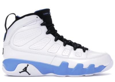 Jordan 9 Retro Powder White/University Blue 302370-103