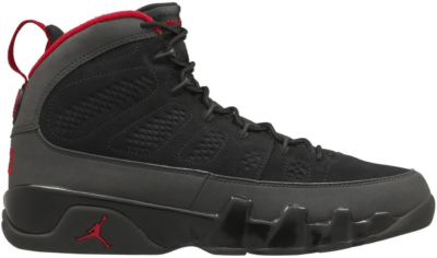 Jordan 9 Retro Charcoal Black/Dark Charcoal-True Red 302370-005
