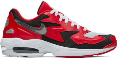 Nike Air Max2 Light Red Black Silver University Red/Black-Reflect Silver AO1741-601