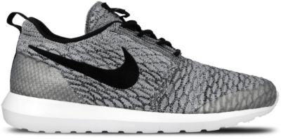 Nike Roshe Run Flyknit NM Wolf Grey Wolf Grey/Black-White 816531-002