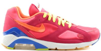 Nike Air Max 180 Powerwall Coral Coral/Bright Mandarin-Cardinal Red 314200-881