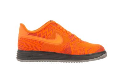 Nike Lunar Force 1 Fuse Bhm Sneaker Orange/Brown Orange/Brown 585714-800