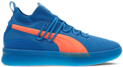 Puma Clyde Court City Pack New York Knicks Strong Blue/Shocking Orange 191712-01