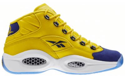Reebok Question Mid All-Star Unworn Yellow/Navy-White V72127