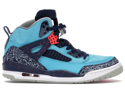 Jordan Spiz'ike Turquoise Blue Turquoise Blue/Infrared 23-Midnight Navy-Neutral Grey 315371-408