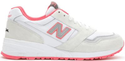New Balance 575 Staple Pigeon White White/Pink-Grey M575JWP