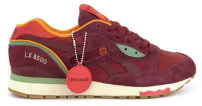 Reebok LX 8500 Packer Shoes Four Seasons Autumn Burgundy/Red-Gold M47405