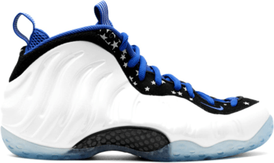 Nike Air Foamposite One Shooting Stars Pearl White/Black-Royal Blue 679085-101