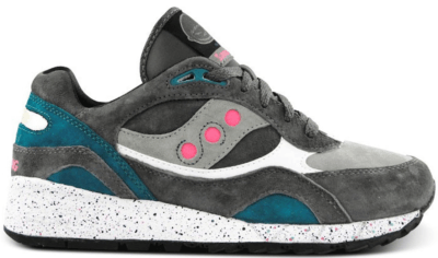 Saucony Shadow 6000 Offspring Running Since 96 Grey Grey/Green-Pink 70141-2