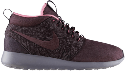 Nike Roshe Run Mid City Pack NYC Red Mahogany/Red Mahogany-Port Wine 585898-665
