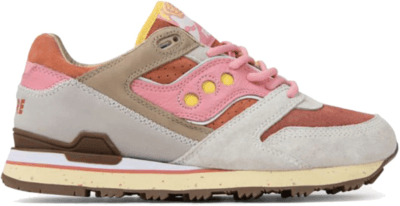 Saucony Courageous Feature Bacon and Eggs Tan/Pink S70323-1