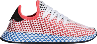 adidas Deerupt Solar Red Bluebird (Youth) Solar Red/Solar Red/Bluebird DA9610