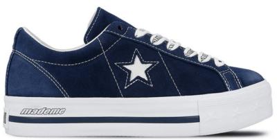 Converse One Star Platform Ox MadeMe Medieval Blue (W) Medieval Blue/White 562960C