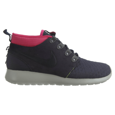 Nike Roshe Run Sneakerboot Gridiron/Dark Obsidian-Pinkfl-Volt Gridiron/Dark Obsidian-Pinkfl-Volt 615601-006