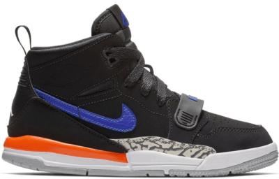 Jordan Legacy 312 Knicks (PS) Black/Rush Blue-Brilliant Orange AT4047-048