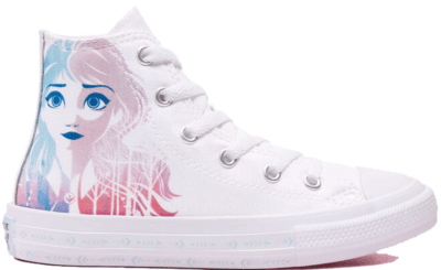 Converse Chuck Taylor All-Star Hi Frozen 2 White (PS) White/Multi-White 367353F