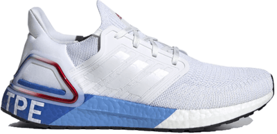 adidas Ultra Boost 20 City Pack Taipei Cloud White/Cloud White/Glory Red FX7816