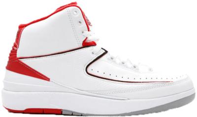 Jordan 2 Retro White Red CDP (2008) White/Varsity Red 308308-162