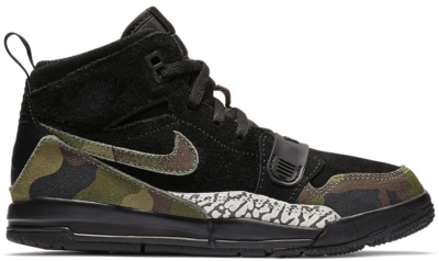 Jordan Legacy 312 Black Camo Green (PS) Black/Camo Green-Volt AT4047-003