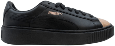 Puma Basket Platform Metallic Puma Black Rose Gold  (W) Puma Black Rose Gold 366169-02
