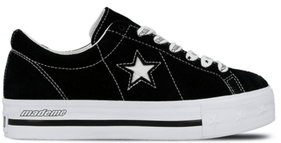 Converse One Star Platform Ox MadeMe Black (W) Black/White 562959C