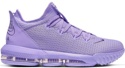 Nike LeBron 16 Low Atomic Violet CI2668-500/CI2669-500