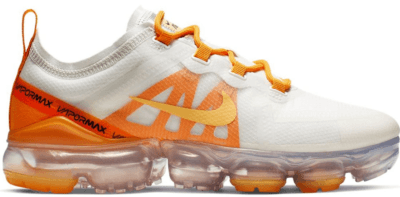 Nike Air VaporMax 2019 White Orange Peel (W) Summit White/Topaz Gold-Orange Peel AR6632-102