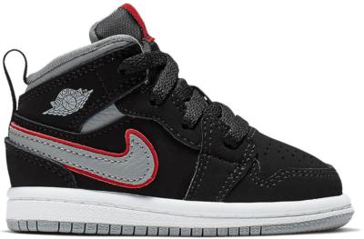 Jordan 1 Mid Black 640735-060
