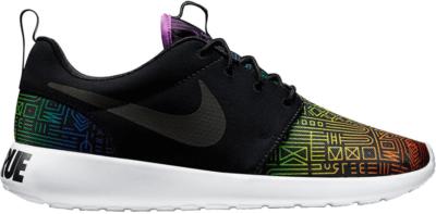 Nike Roshe Run Be True Black/Black-Light Crimson 808715-006