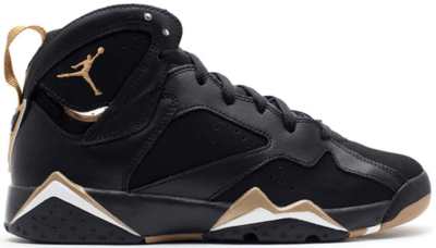 Jordan 7 Retro Golden Moments Pack (6/7) (GS) Black/Metallic Gold-Sail 304774-030