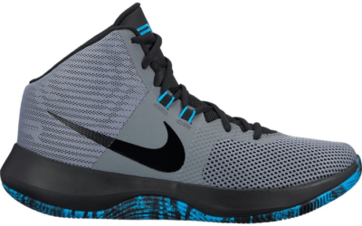 Nike Air Precision Cool Grey Black Light Blue Fury Cool Grey/Black-Light Blue Fury 898455-005