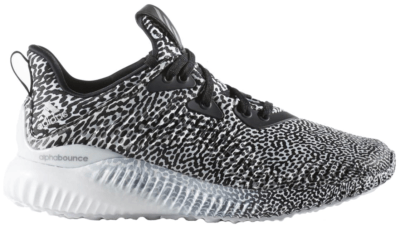 adidas Alphabounce Motion Capture (Youth) Core Black/Neo Iron/Running White B42669