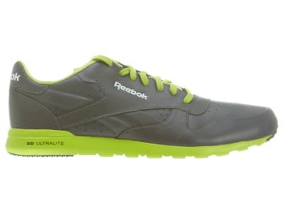 Reebok Cl Lthr Ultralite Ltr Classic R Gry / S Green / White / Black R Gry/S Green/White J82011