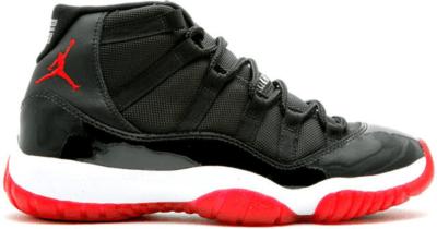 Jordan 11 Retro Playoffs CDP (2008) Black/True Red-White 136046-062