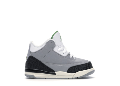Jordan 3 Retro Chlorophyll (TD) Light Smoke Grey/Chlorophyll-Black-White 832033-006