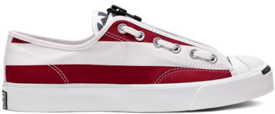 Converse Jack Purcell Zip Ox x Thesoloist White 164836C