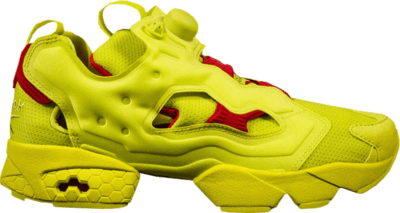 Reebok Instapump Fury Packer Shoes OG Division Hyper Green AR3497